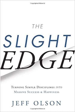 best personal development books - The Slight Edge by Jeff Olson