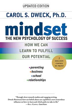 Mindset The New Psychology of Success by Carol Dweck-best personal growth book
