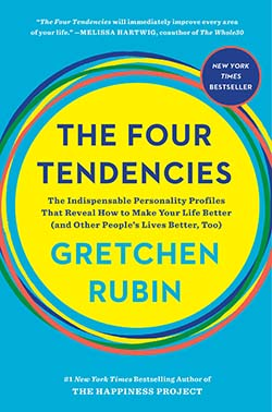 The Four Tendencies by Gretchen Rubin-personal development book for self-discovery
