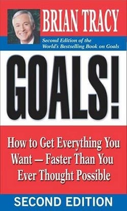 Best self-improvement books of all time- Goals by Brian Tracy