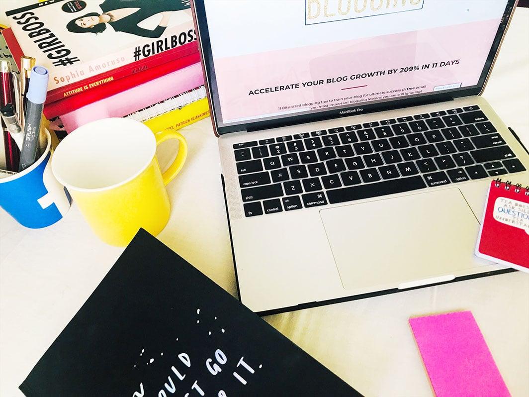 Blogging with Afra