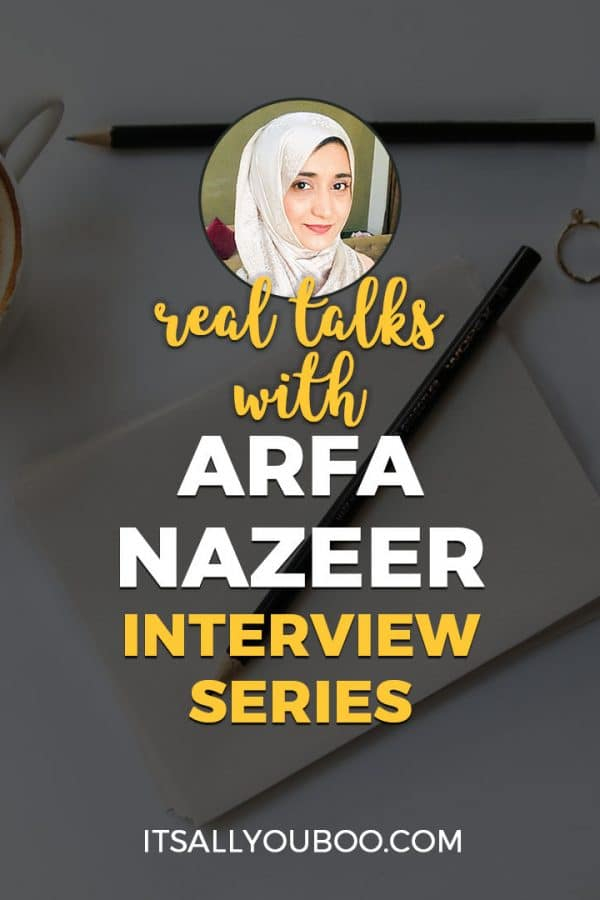 Real Talks with Arfa Nazeer Interview Series
