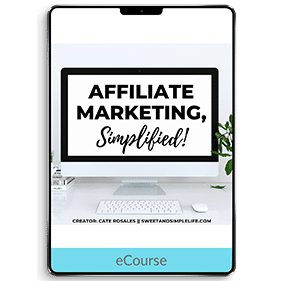 Affiliate Marketing, Simplified!
