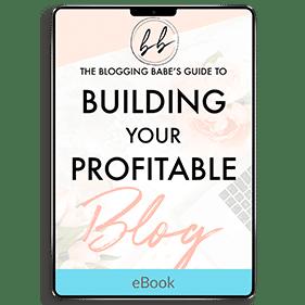 Building Your Profitable Blog (eBook)