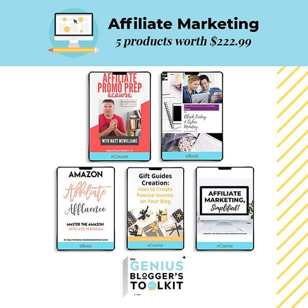 Genius Blogger Toolkit 2019 Review Affiliate Marketing Resources