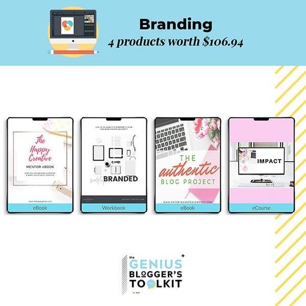 Genius Blogger Toolkit 2019 Review Branding Resources