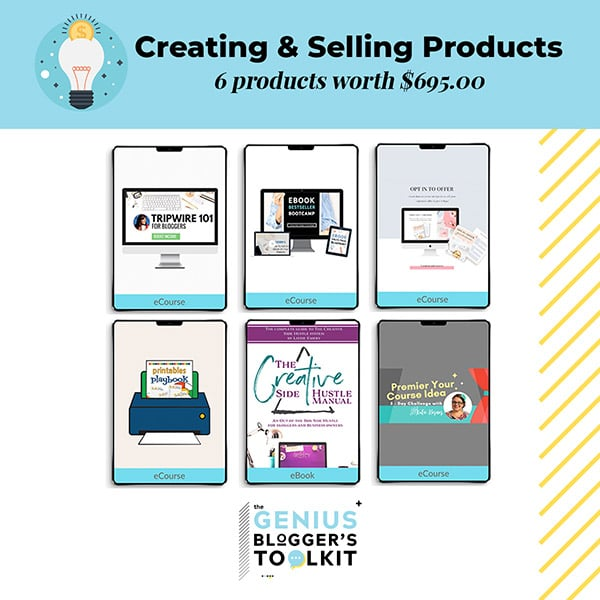 Genius Blogger Toolkit 2019 Review Creating and Selling Products Resources