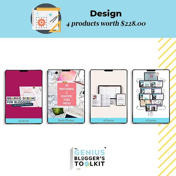 Genius Blogger Toolkit 2019 Review Designing Resources