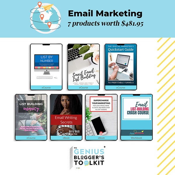 Genius Blogger Toolkit 2019 Review Email Marketing Resources