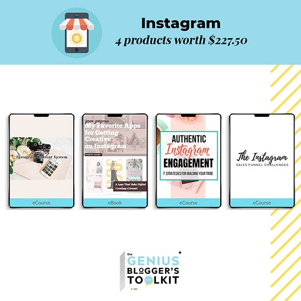 Genius Blogger Toolkit 2019 Review Instagram Products