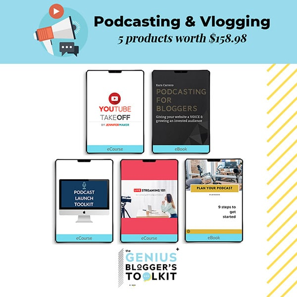 The Genius Blogger Toolkit 2019 Review Podcasting and Vlogging Products