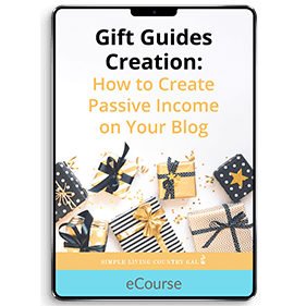 Gift Guides Creation
