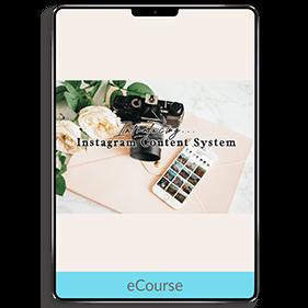 Instagram Content System (eCourse)