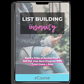 List Building Insanity (eCourse)