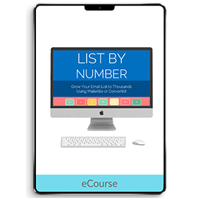 List by Number (eCourse)