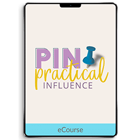 Pin Practical Influence (eCourse)