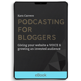 Podcasting for Bloggers (eBook)