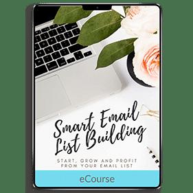 Smart Email List Building (eCourse)
