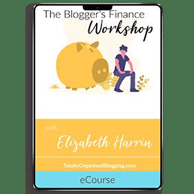 The Blogger's Finance Workshop (eCourse)