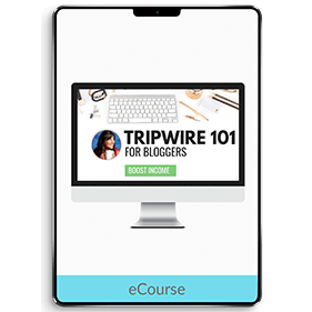 Tripwire 101 For Bloggers: Start Making Money With Your Blog (eCourse)