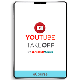 YouTube TakeOff Quick-Start Course: How to Start a Channel with a Growth Trajectory (eCourse)