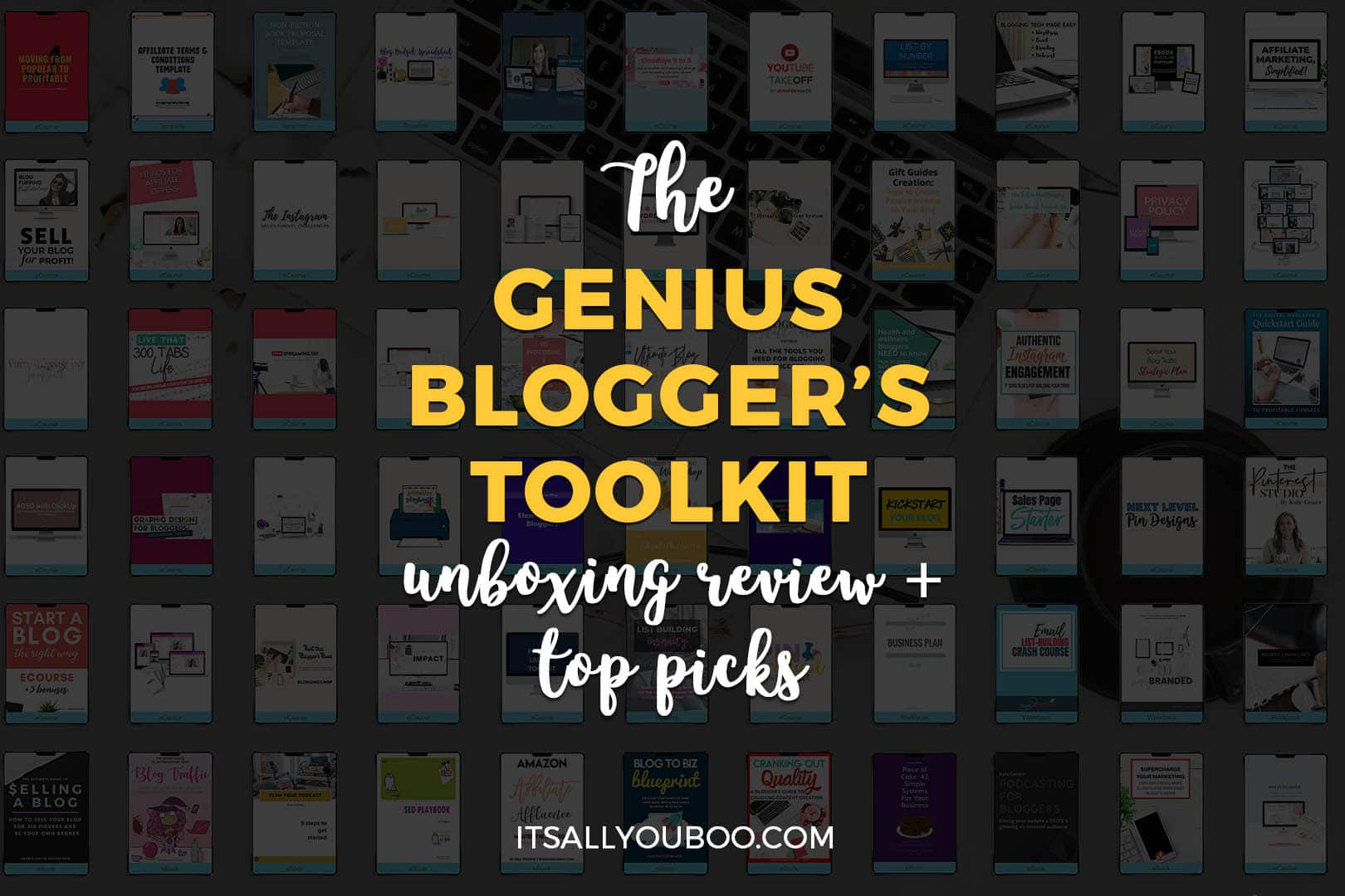 The 2019 Genius Blogger's Toolkit Review