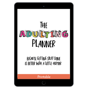 Ultimate Productivity Bundle, Adulting Planner