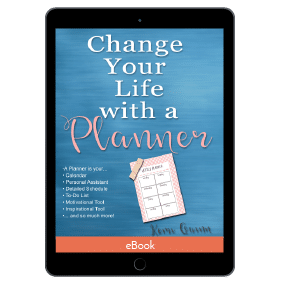 Change Your Life With a Planner