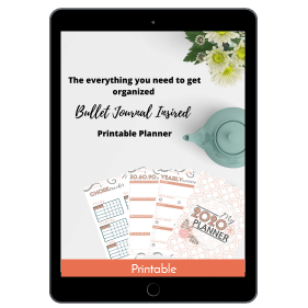 Ultimate Productivity Bundle, Everything You Need to Get Organized: Bullet Journal Inspired Printable Planner