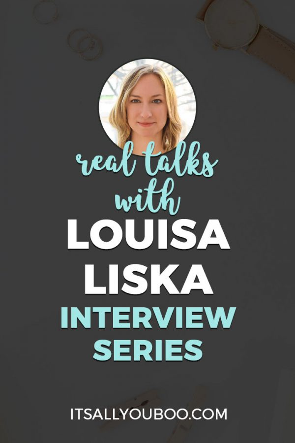 Real Talks with Louisa Liska of The Actually