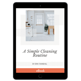 A Simple Cleaning Routine, Ultimate Productivity Bundle 2020