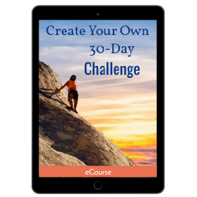 Create Your Own 30 Day Challenge