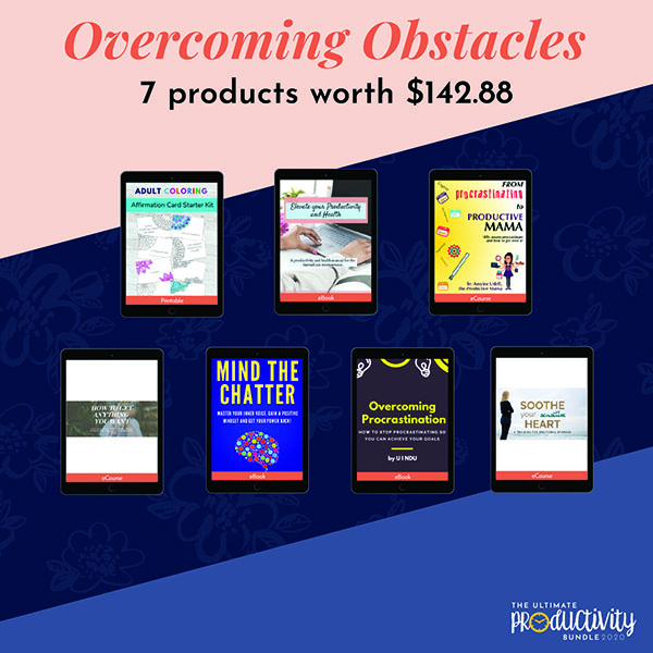 The Ultimate Productivity 2020 Review - Overcoming Obstacles