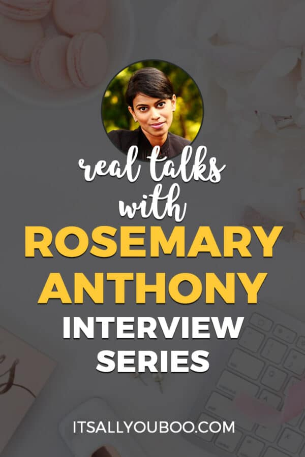 Real Talks with Rosemary Anthony of Brazen Living