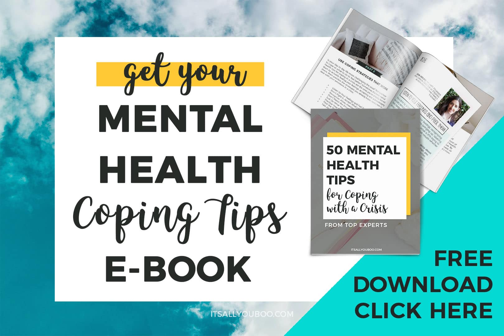 Get your FREE Mental Health Coping Tips eBook