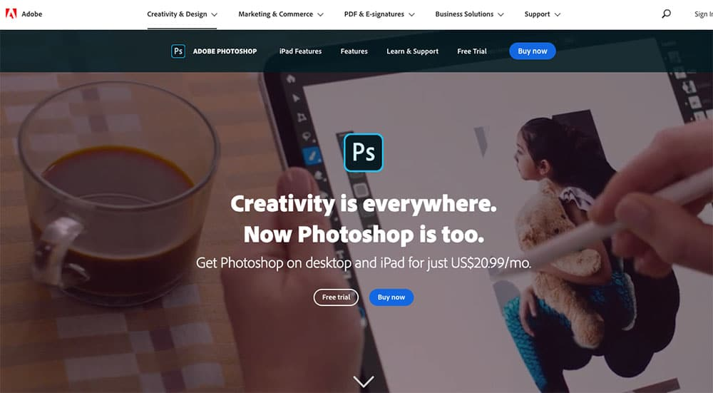 get photoshop for your blog graphics