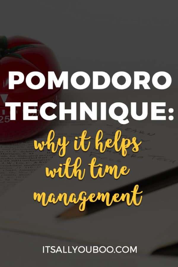 Pomodoro Technique: Why it Helps with Time Management