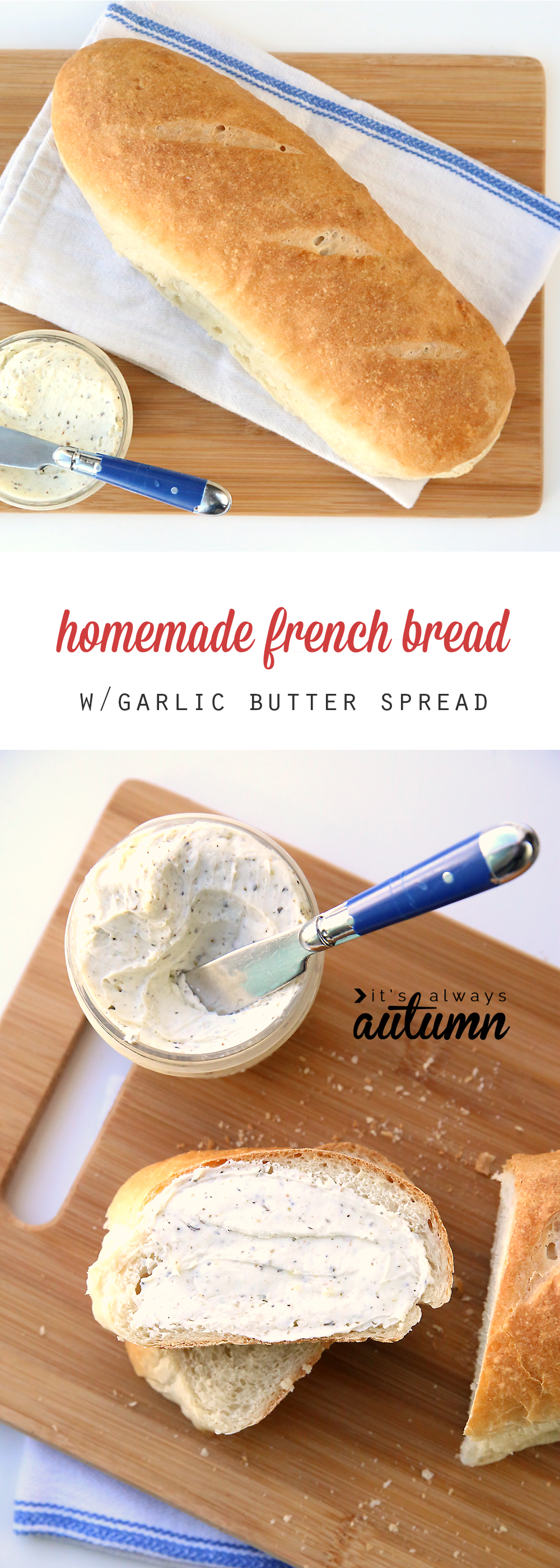 You can make amazing french bread at home with this fool proof recipe! Easy to follow step by step video included.