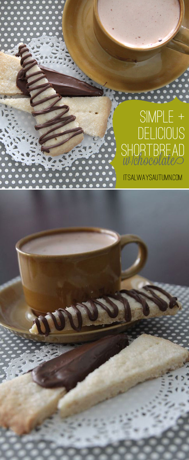 best ever easy shortbread cookie recipe