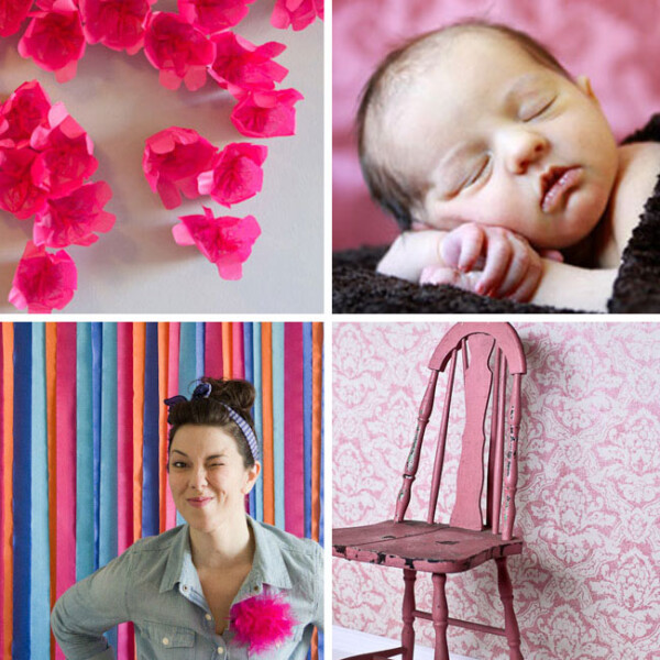 Collage of DIY photo backgrounds