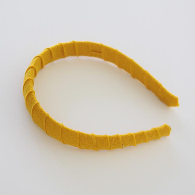 pretty yellow headband