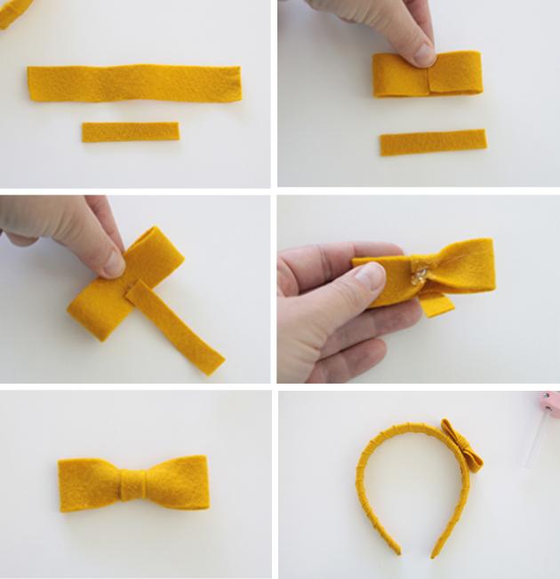 tutorial for covering headband
