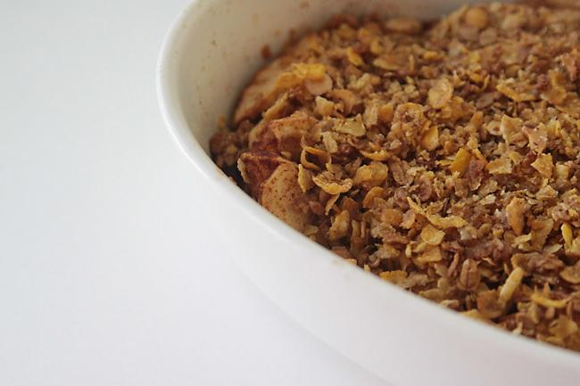 easy guiltless apple crisp recipe