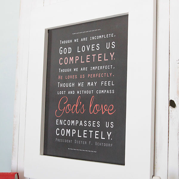 Printable quote by Dieter F Uchtdorf about God's love