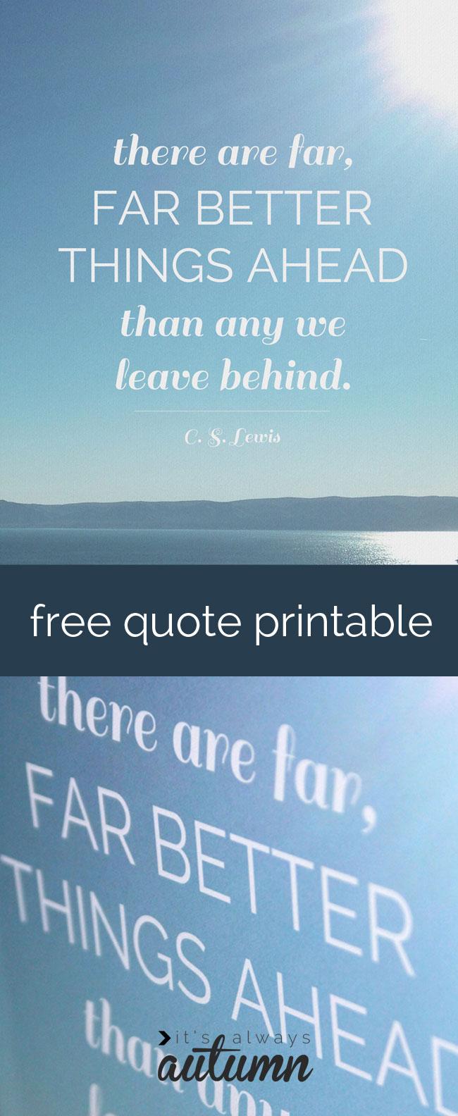cs lewis quote free printable