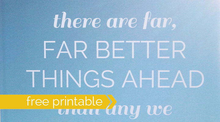 printable quote sign