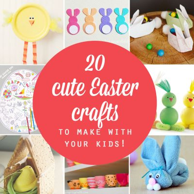 20 adorable Easter crafts for kids {easy + fun!}
