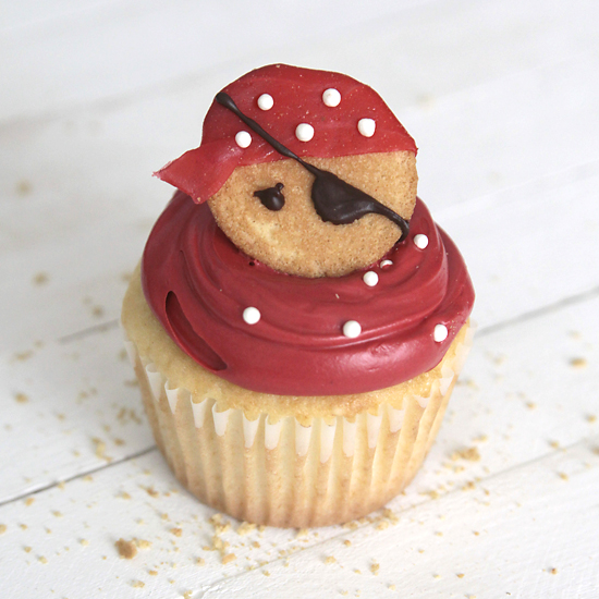 because pirates are awesome and fondant is yucky