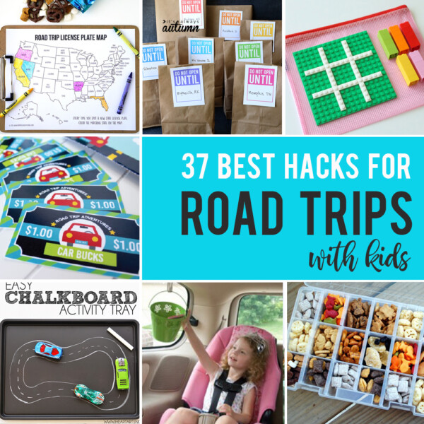 37 genius hacks for road trips with kids!