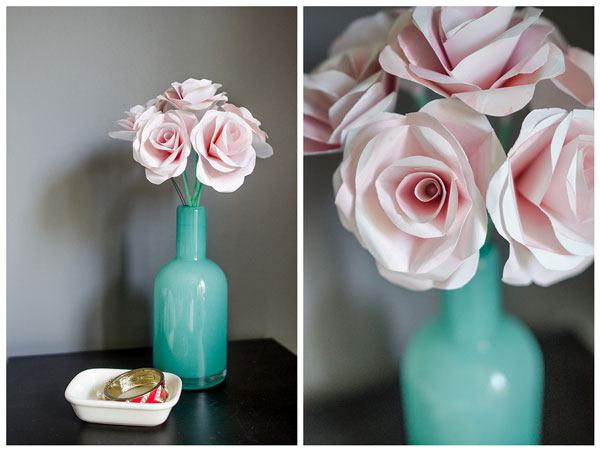 Amazing collection of DIY paper flower tutorials - these look so real! Paper roses.